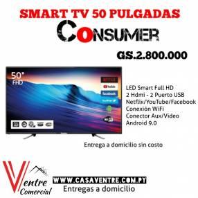 TV LED Smart 50 pulgadas Consumer