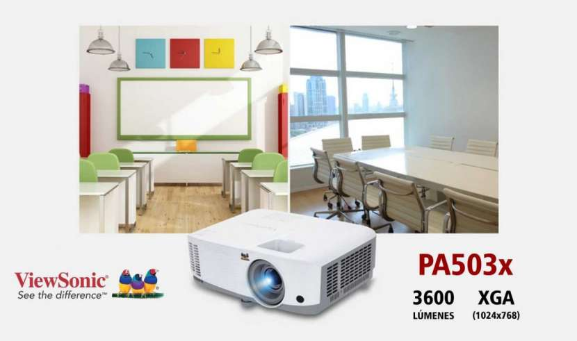 Proyector ViewSonic PA503x 3600 lúmenes - 0