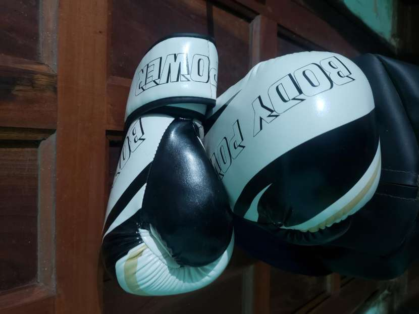 Bolsa de boxeo y guantes - 1
