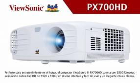 Proyector full HD ViewSonic PX700HD 3500 lúmenes