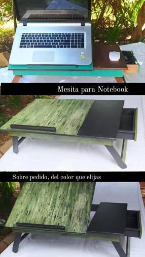 Mesita para notebook