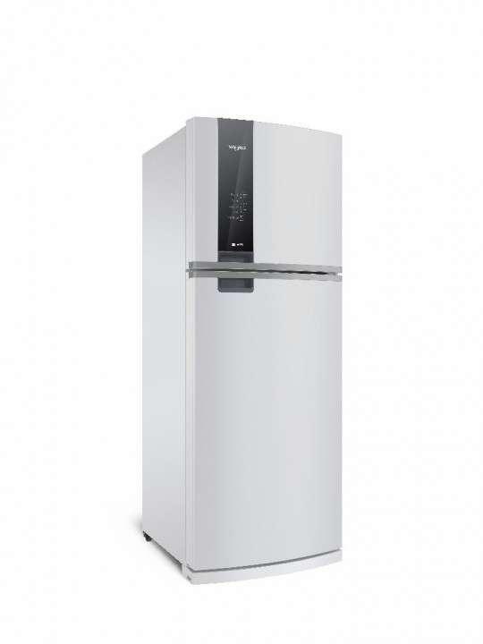 Heladera inverter frío seco panel touch blanco Whirlpool 492 litros - 0