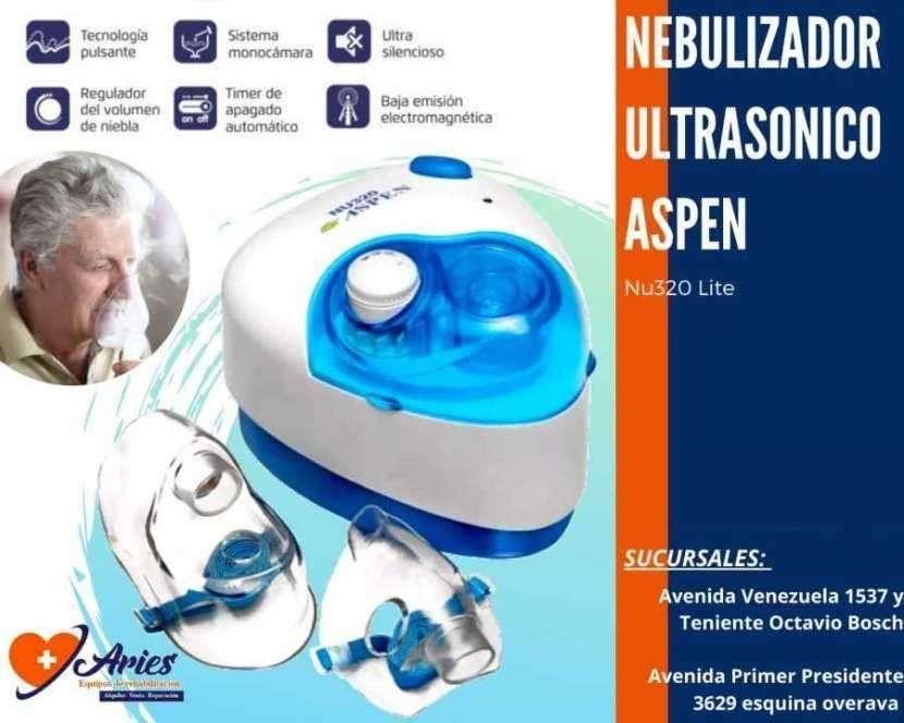 Nebulizador ultrasónico Aspen NU320 Lite - 0