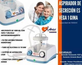 Aspirador de secreción Gima Vega 1