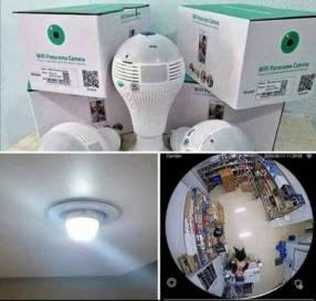 Foco cámara espía 360