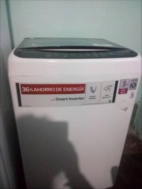 Lavarropas automático LG 9 kilos