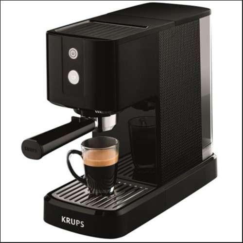 Cafetera Krups Calvi xp341 Espresso compacta 1450 W 1L - 0
