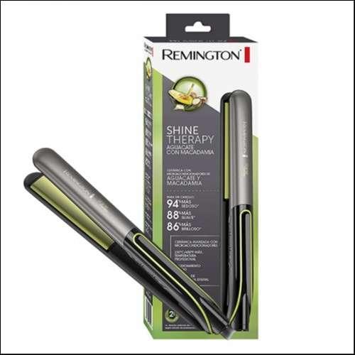 Planchita Remington S-12A c/ aguacate + Perfume GRACE La Rose - 0
