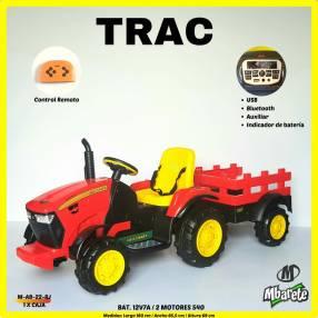 Tractor a batería
