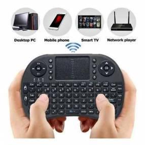 Mini teclado y mouse inalámbrico