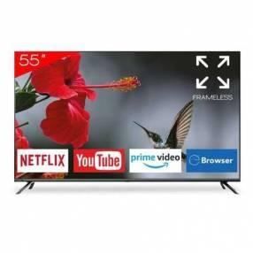 Smart tv led 4k Aiwa 55 pulgadas
