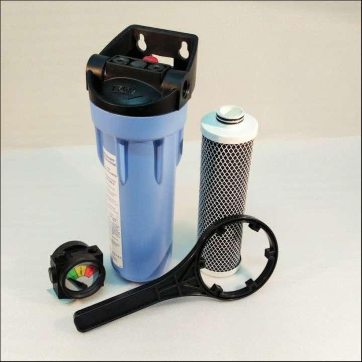 Purificador de agua con cartucho filtrante membrana Pentek 10 pulgadas - 1