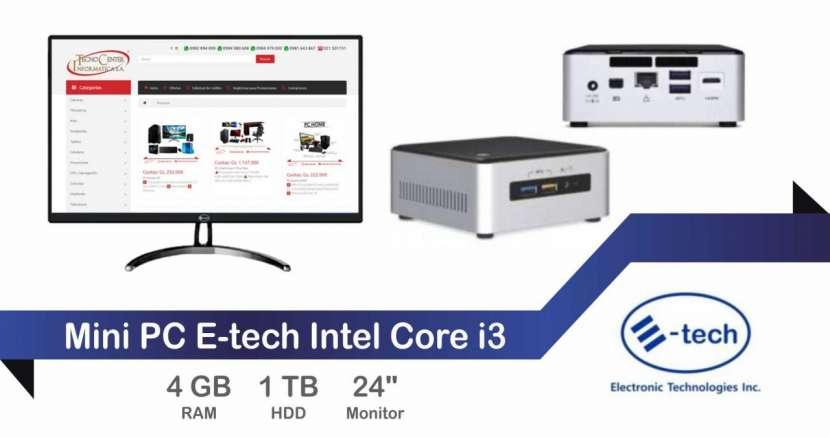Mini PC E-tech Intel Core i3 - 0