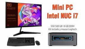 Mini pc Nuc Intel Core i7 SSD 500gb