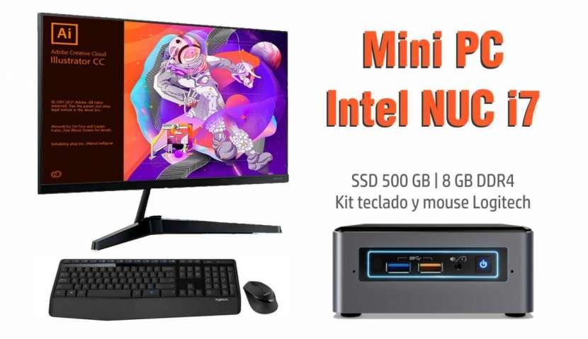 Mini pc Nuc Intel Core i7 SSD 500gb - 0
