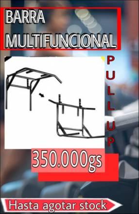 Barra multifuncional dominadas