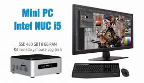 Mini PC NUC Intel Core i5 SSD 480 GB