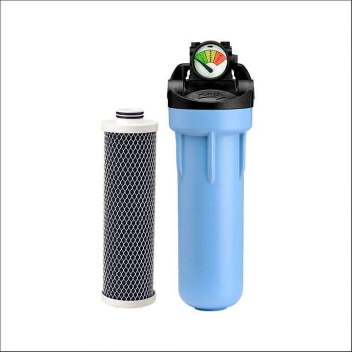 Purificador de agua con cartucho filtrante membrana Pentek 10 pulgadas - 0