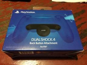 Botones traseros para PS4