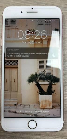 iPhone 7 Plus rosa de 128 gb