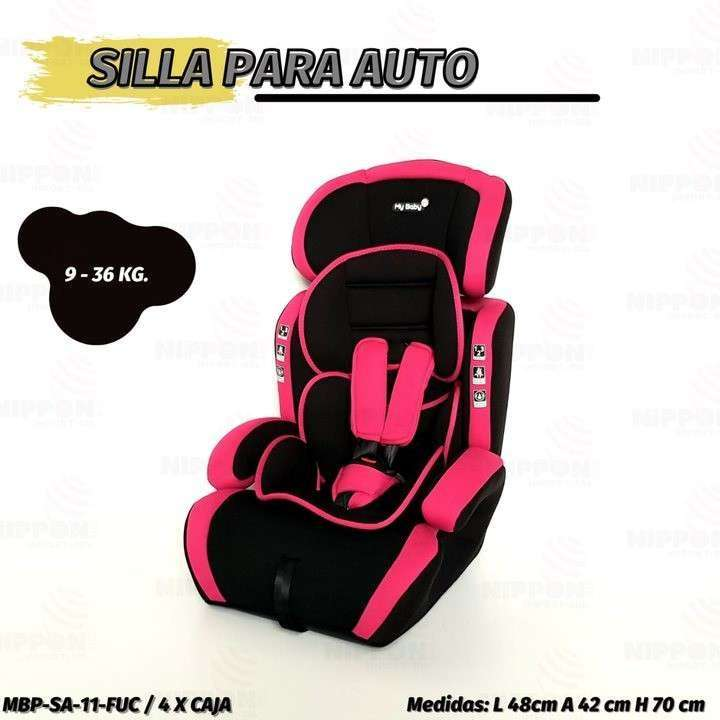 Asiento para auto baby 9 a 36 Kg My Maby (2116) - 1