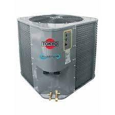 Acondicionador de aire cassette round flow frío calor 24.000 btu