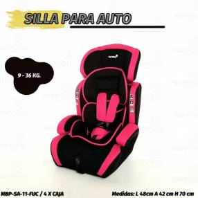 Asiento para auto baby 9 a 36 kg My Baby (2116)