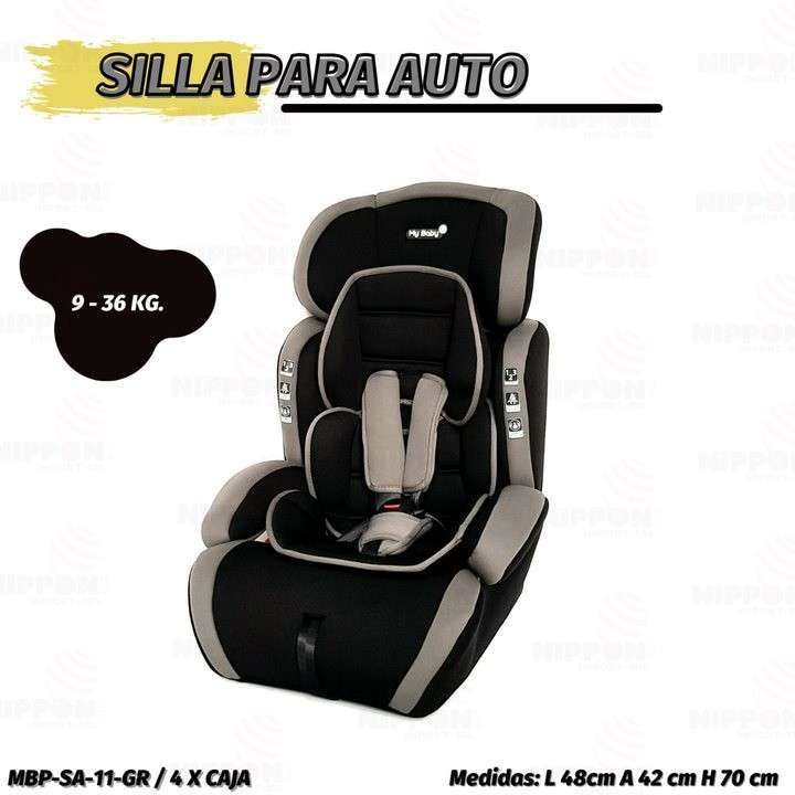 Asiento para auto baby 9 a 36 Kg My Maby (2116) - 0