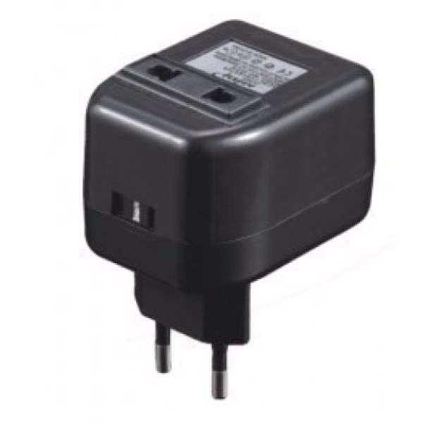 Adaptador 220v a 110v 50wats em-211 - 1