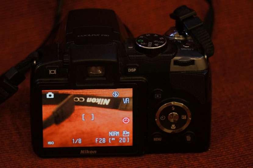 Cámara Nikon P80 semiprofesional 18x filma HD - 2