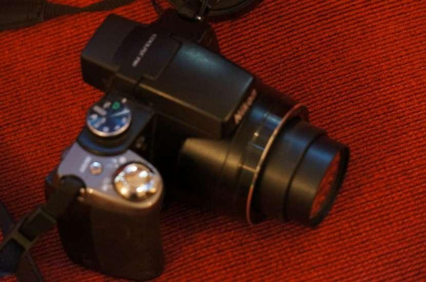Cámara Nikon P80 semiprofesional 18x filma HD - 3