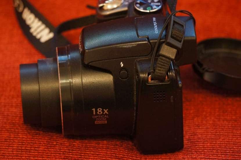 Cámara Nikon P80 semiprofesional 18x filma HD - 5