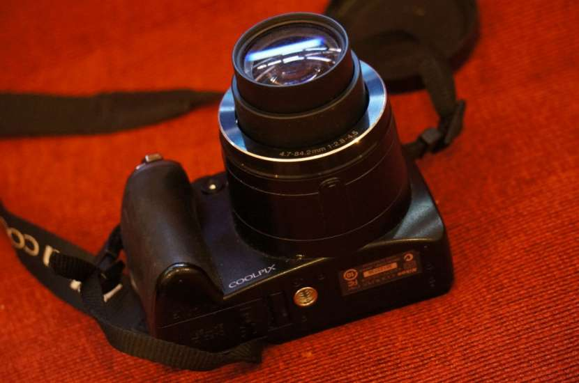 Cámara Nikon P80 semiprofesional 18x filma HD - 4