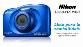 Cámara Nikon Coolpix W150