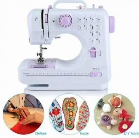 Mini máquina de costura doméstica Luo LU-505A