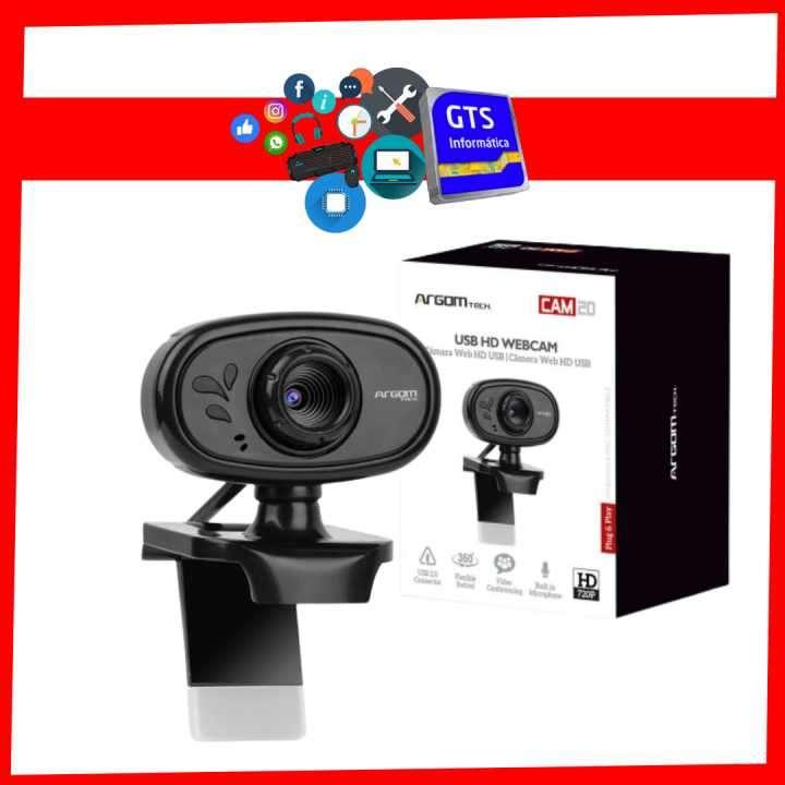 Webcam HD 720P con micrófono CAM20 - 0