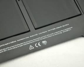 Bateria apple a1406 a1495 a1465 a1370 macbook air 11 inch mid-2012/2013/early-2014