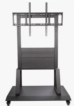Mueble con soporte y Rueditas Metalico para Televisor tv 52 a 90. Capacidad 120Kg