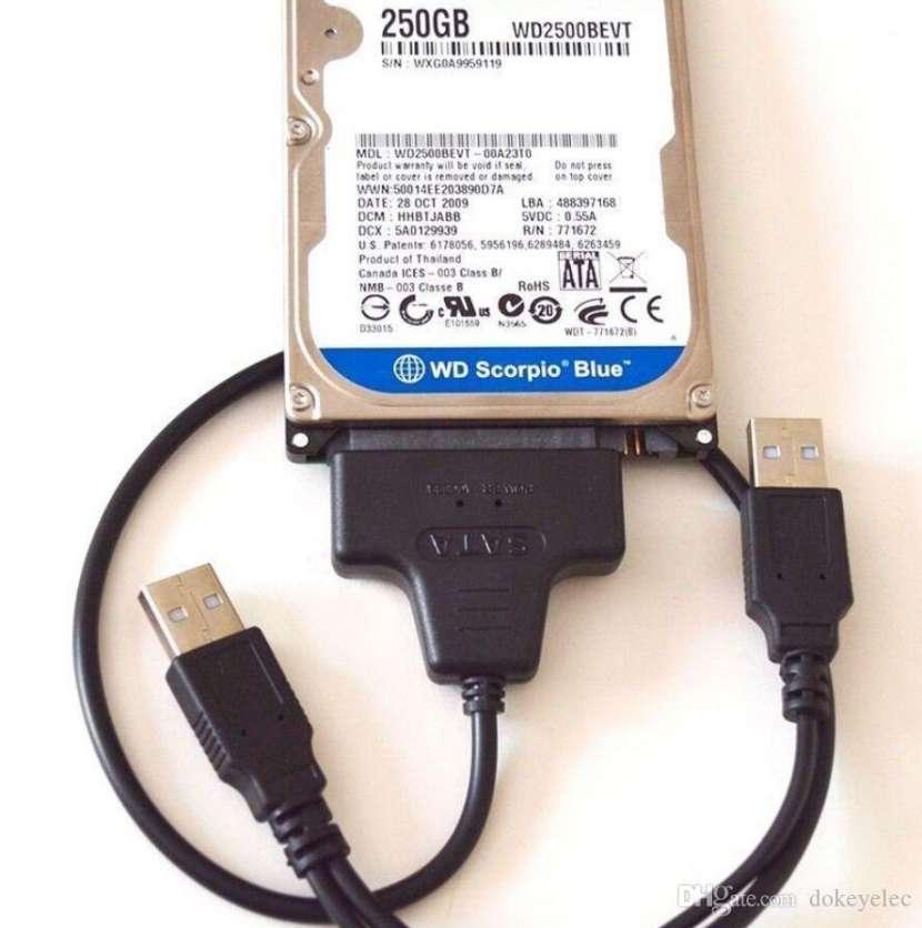 Adaptador usb 2.0 a sata 2.5 ssd o disco nb - 0