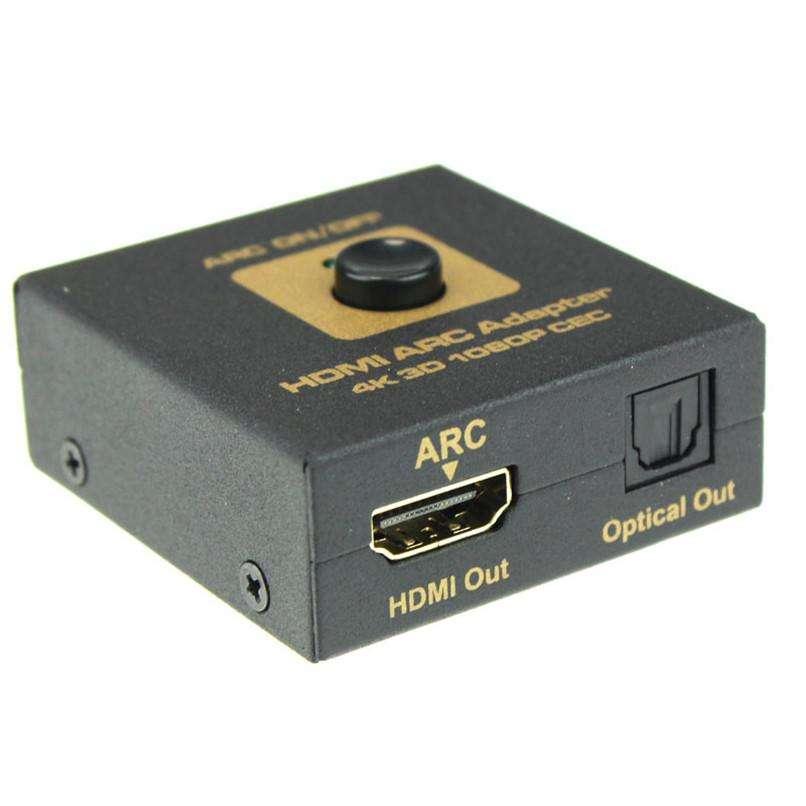 Adaptador hdmi a hdmi arc optical - 1