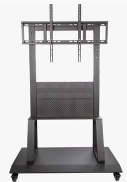 Mueble con soporte y rueditas metálico para TV