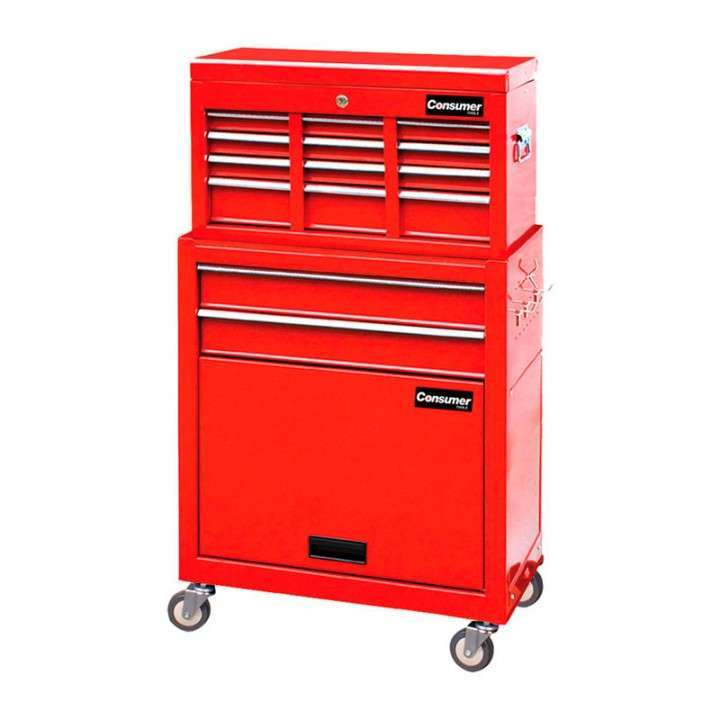 Gabinete metálico para herramientas Consumer 60x33x107cm - 0