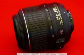 Lente Nikon 18-55 mm f/3.5 – 5.6 G VR AF-S seminuevo