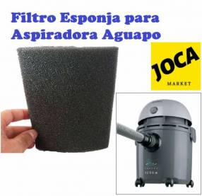 Filtro tipo esponja para aspiradoras Arno aguapo