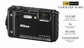 Cámara Nikon Coolpix W300