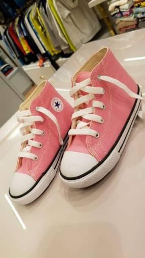 Calzado Converse Rosa