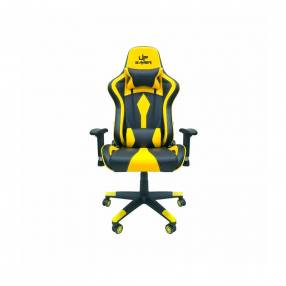 Silla Up gamer UP-2021 negro amarillo