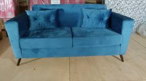 Sofa sajonia de 2 lugares um (4196)