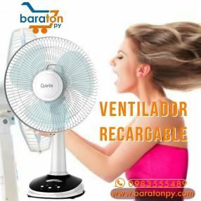 Ventilador recargable