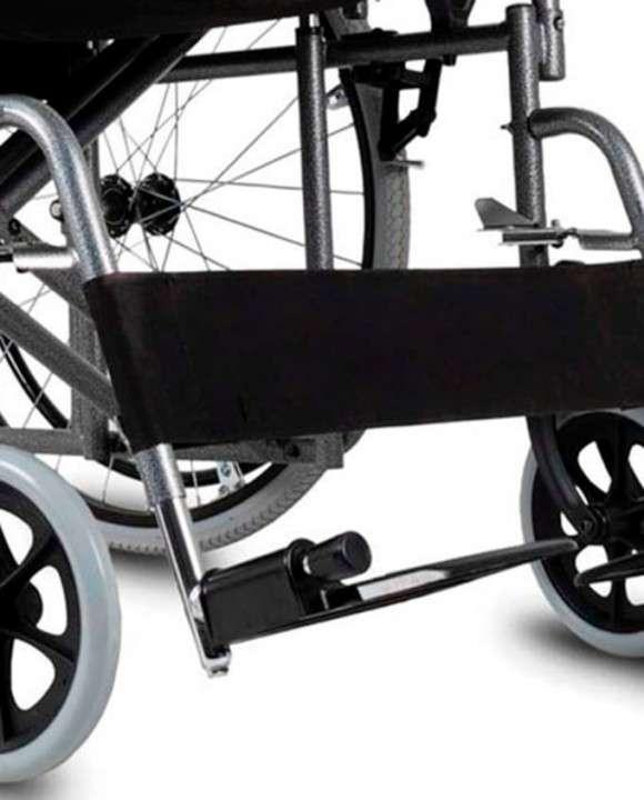 Silla de ruedas reforzada aguanta hasta 150 Kg - 3